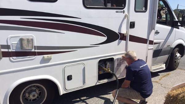 Ciutadella habilitará un punto limpio para las aguas grises y negras de las autocaravanas