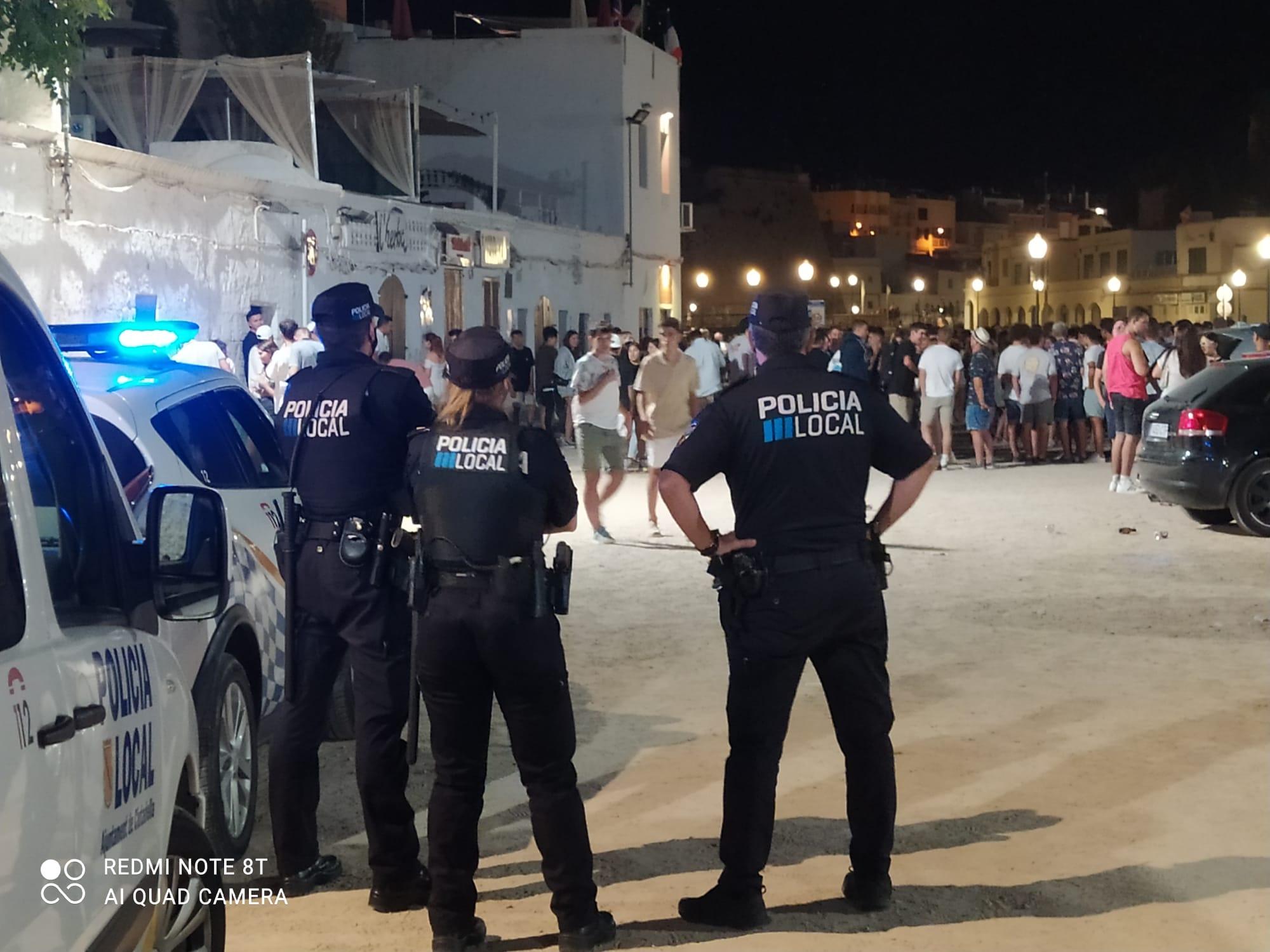 La Policia Local tanca el mes d'agost amb un balanç de més de 2.000 serveis realitzats en el conjunt dels torns